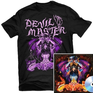 Satan Spits on Children of Light T Shirt + CD Bundle
