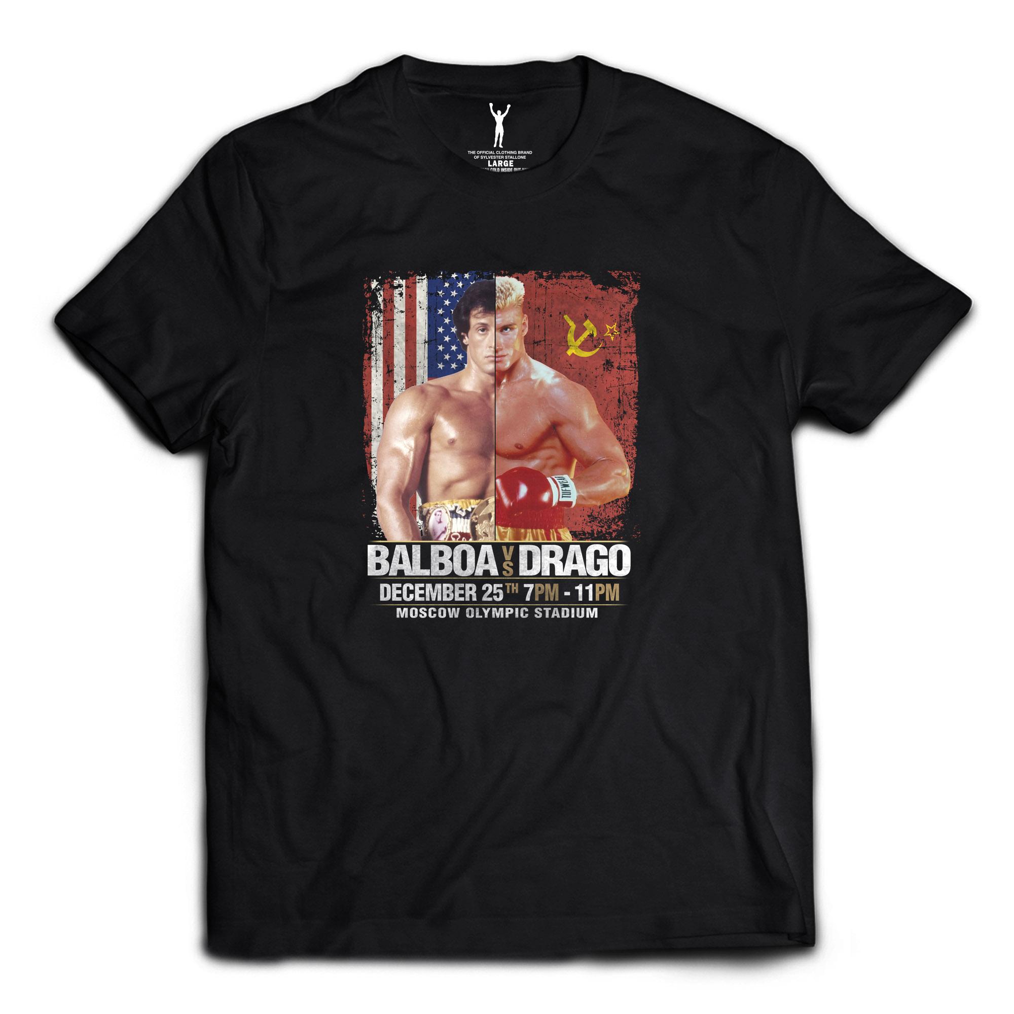 Balboa vs. Drago Tee