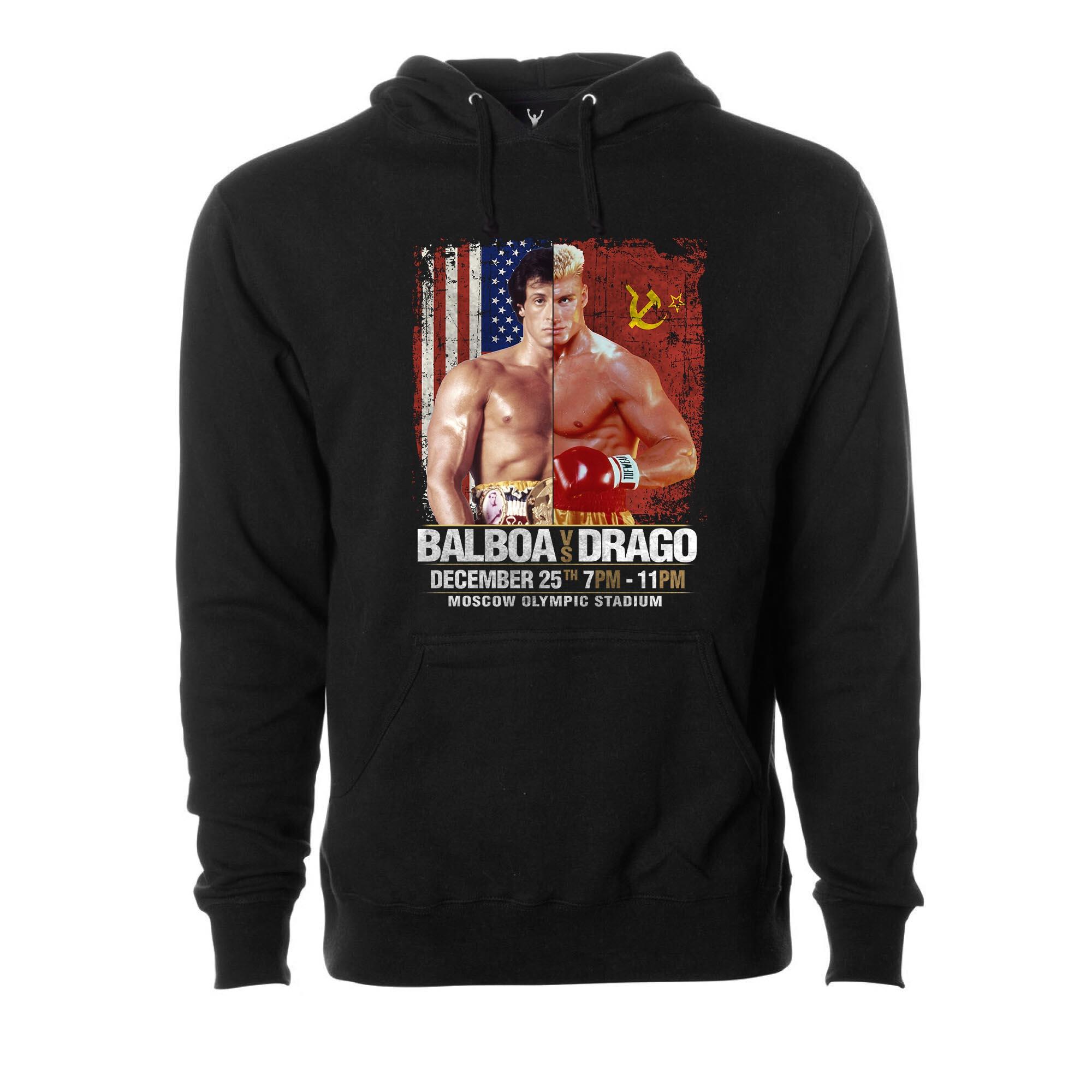 Balboa vs. Drago Pullover Hoodie