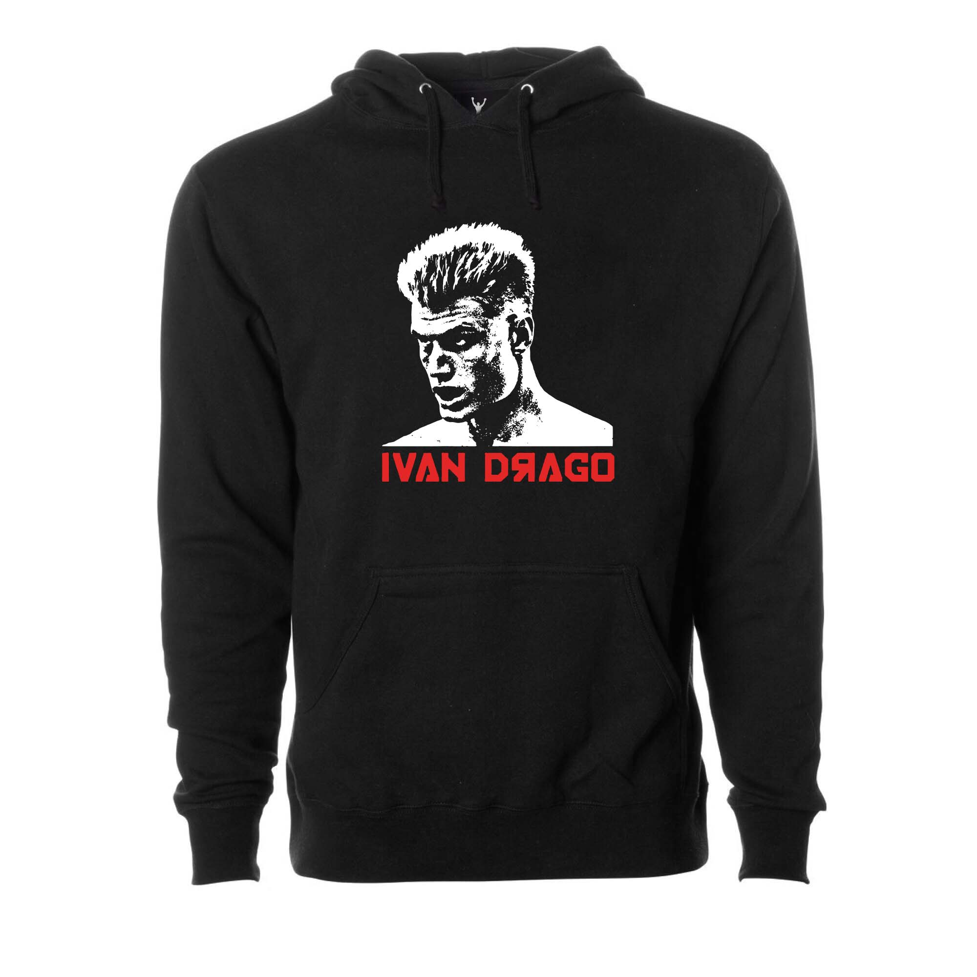 Ivan Drago Stare Down Pullover Hoodie