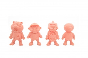 Basuritas Vinyl Toy 4 Pack - Flesh