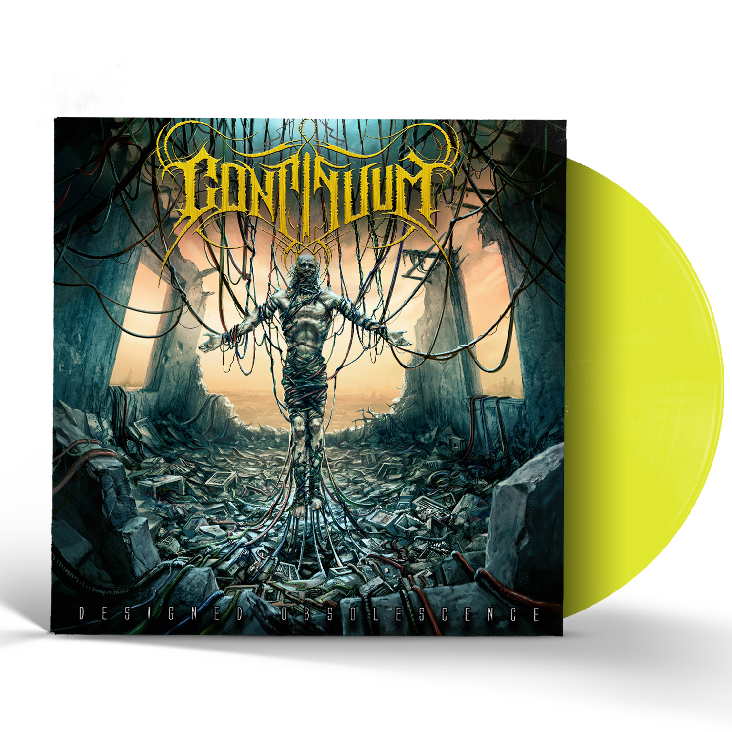 Designed Obsolescence Flo Yellow LP