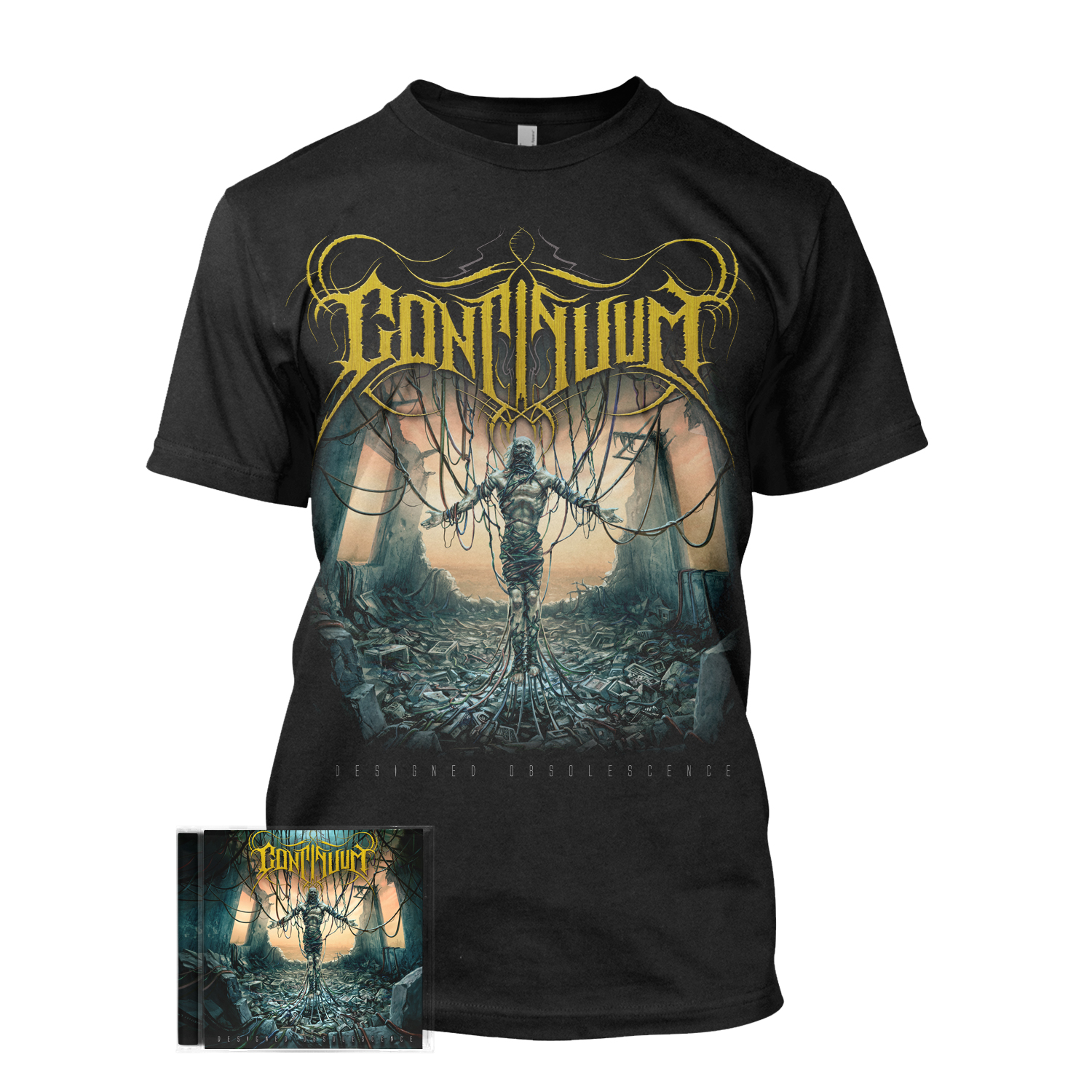 Designed Obsolescence CD + Tee Bundle