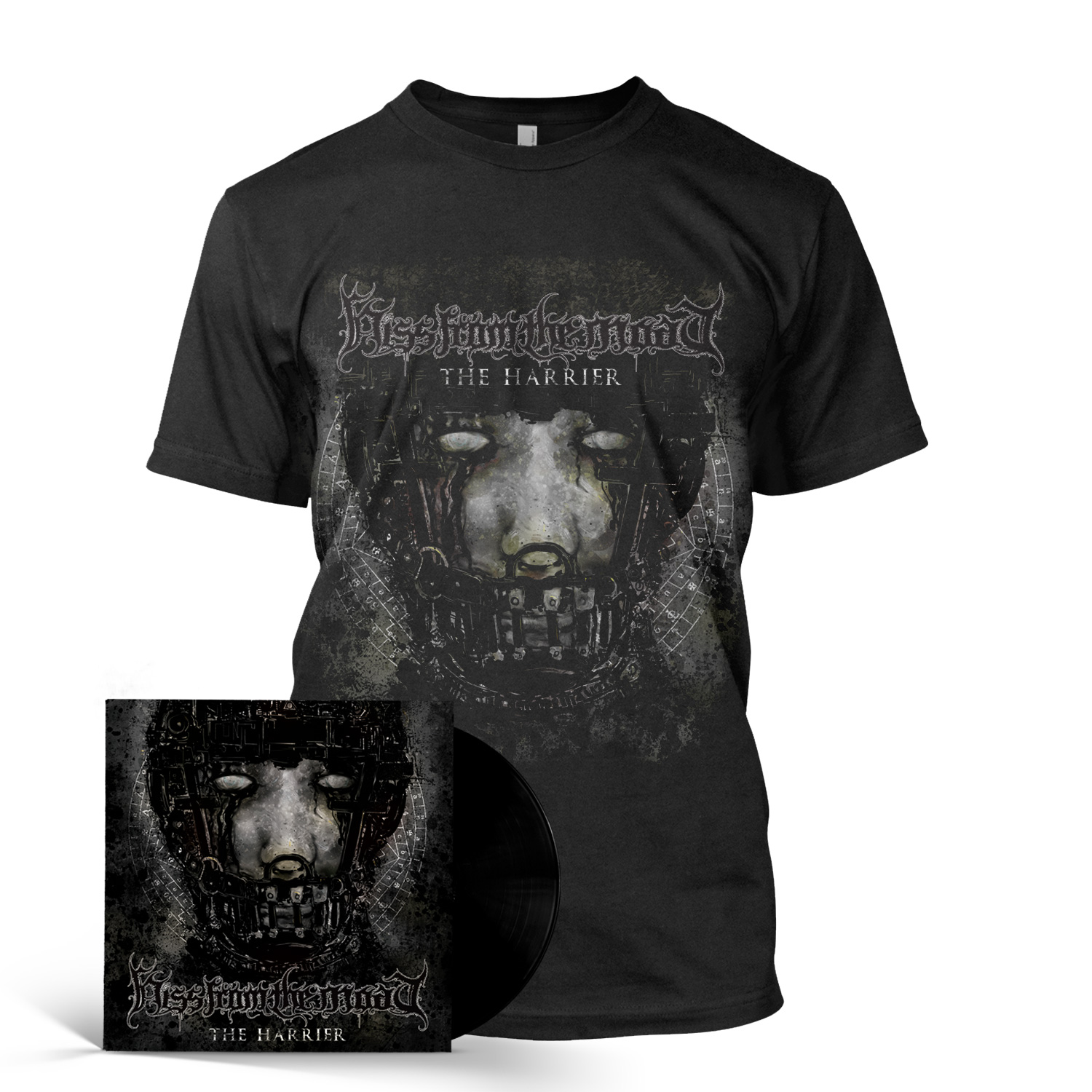 The Harrier – Vinyl + Tee Bundle