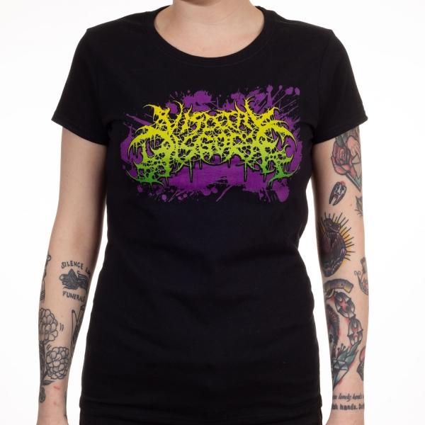 Logo Purple Splatter