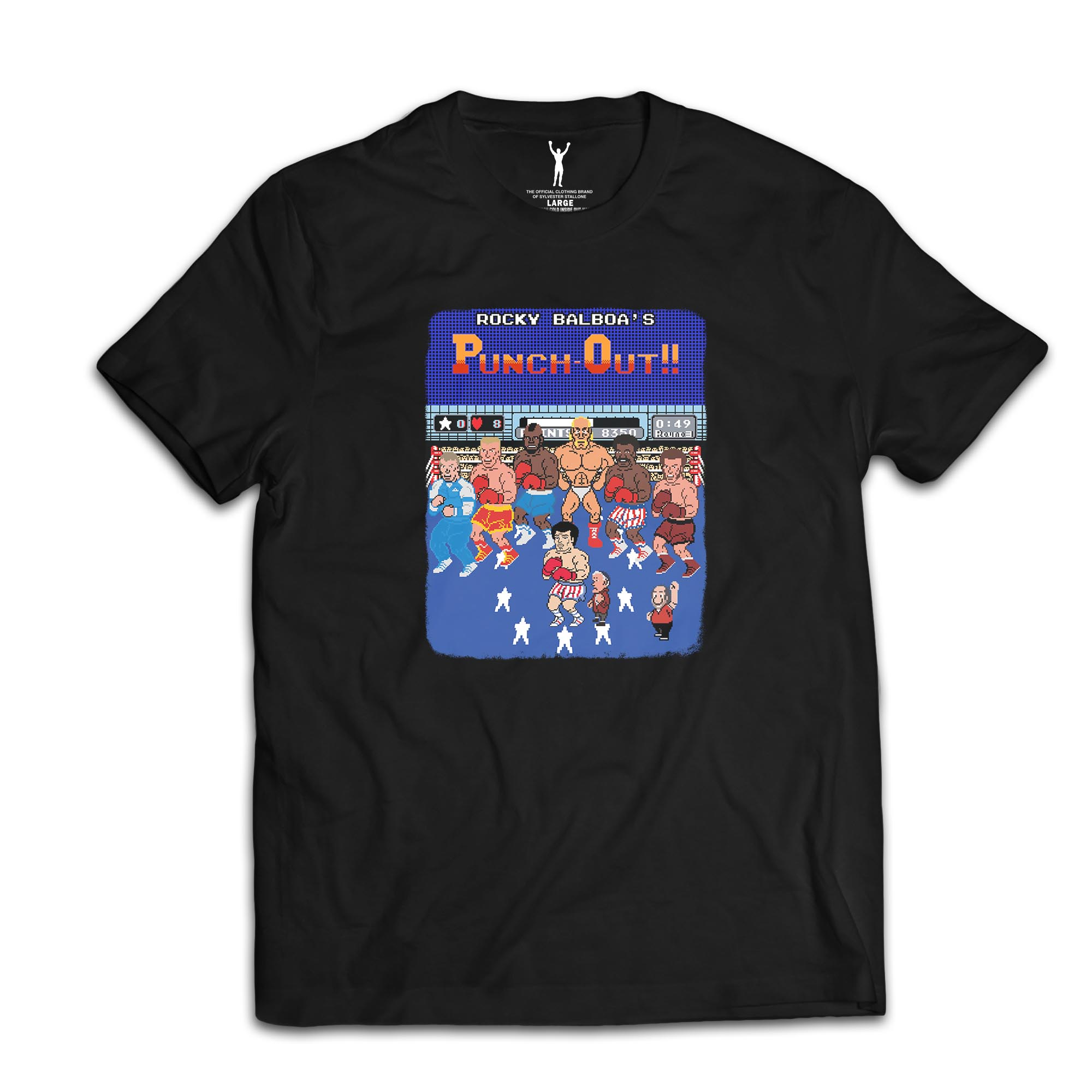 Rocky Balboa's Cast Punchout Tee