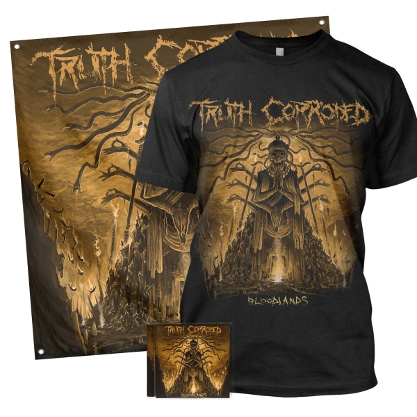 Bloodlands Tee + CD Bundle