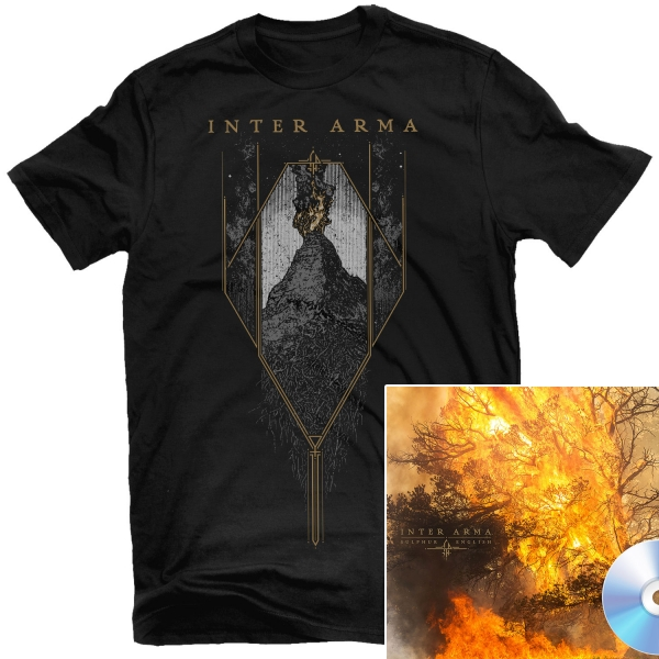 Citadel T Shirt + Sulphur English CD Bundle