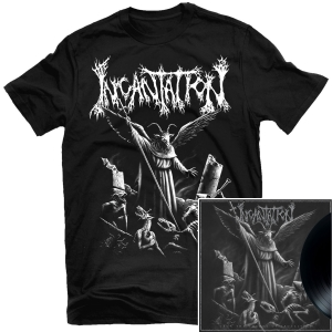 Upon the Throne of Apocalypse Reissue T Shirt + LP Bundle