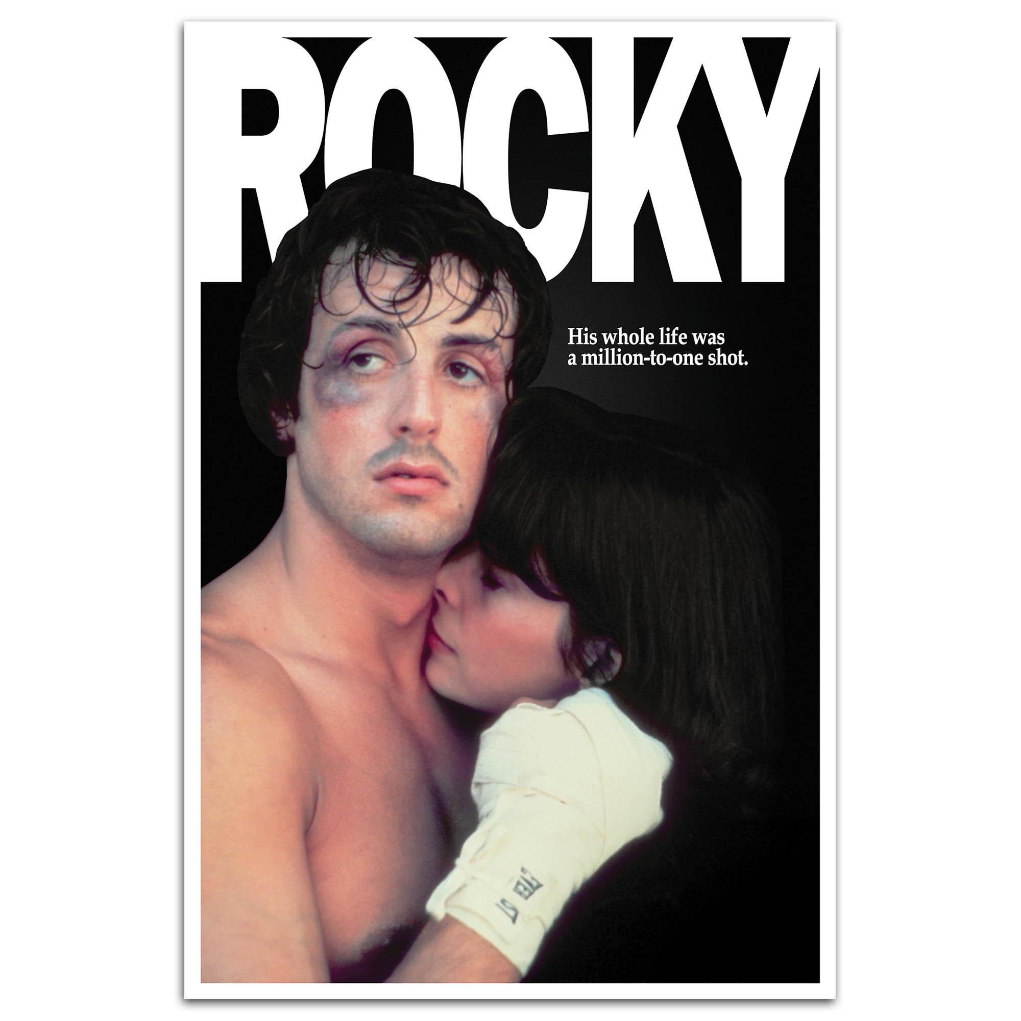 """Rocky & Adrian 24"""" x 36"""" Poster"""