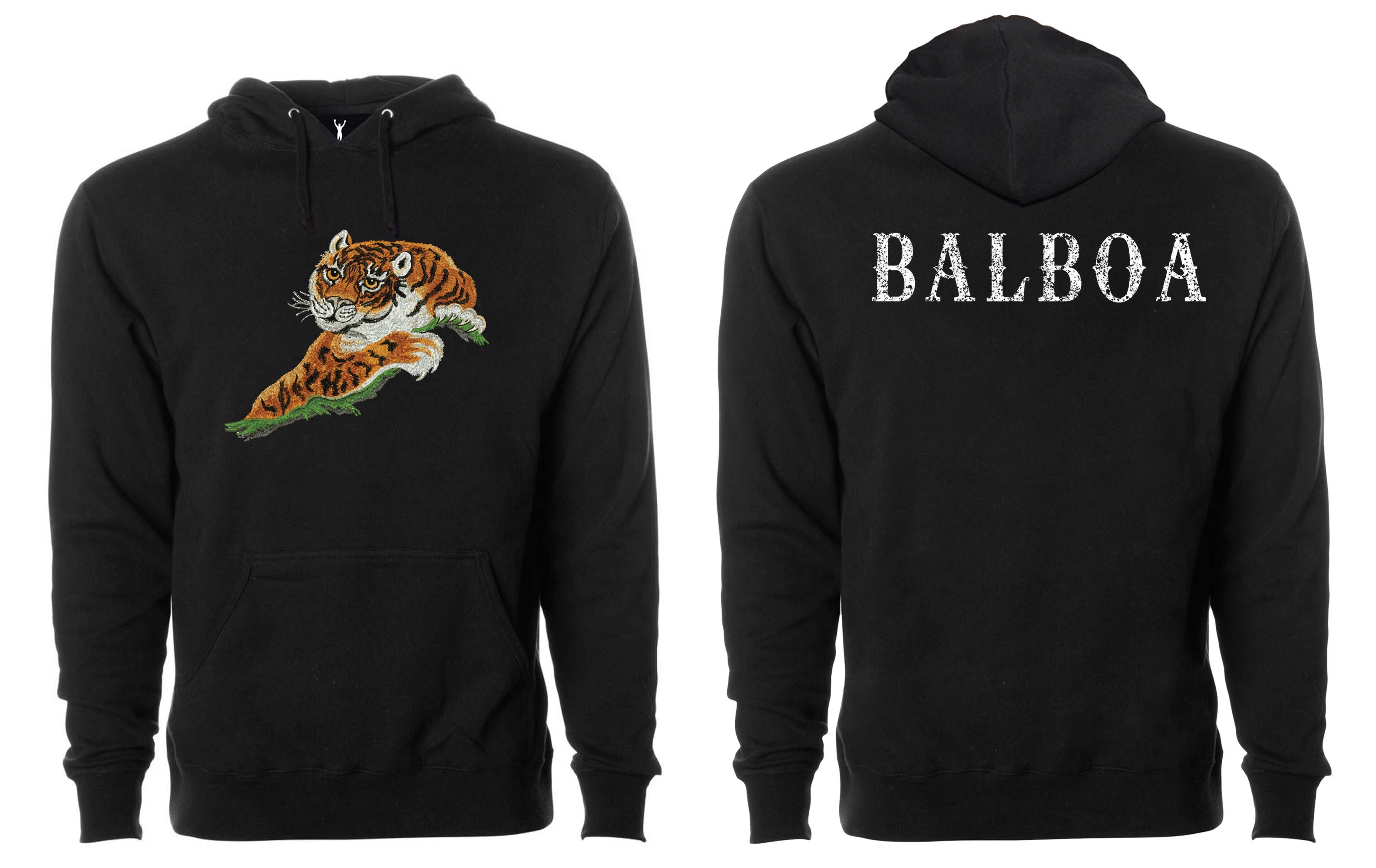 d83da5cc5480 Rocky II Tiger Pullover Hoodie