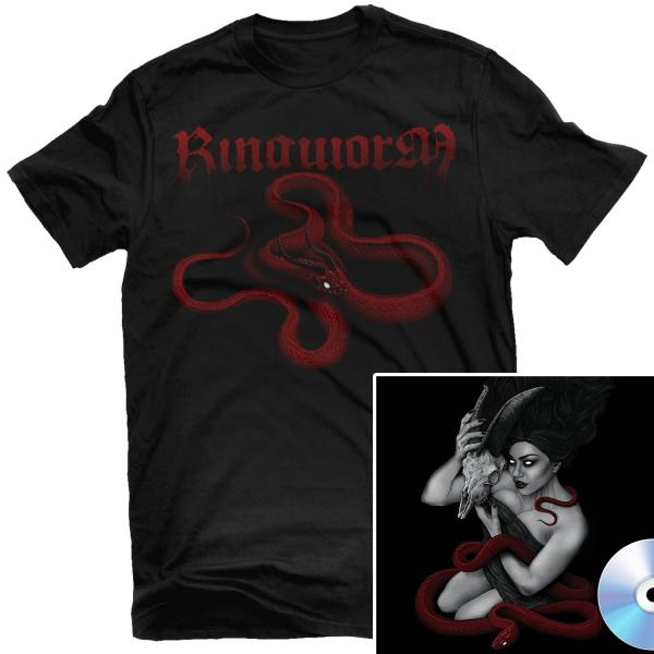 Death Becomes My Voice T Shirt + CD Bundle