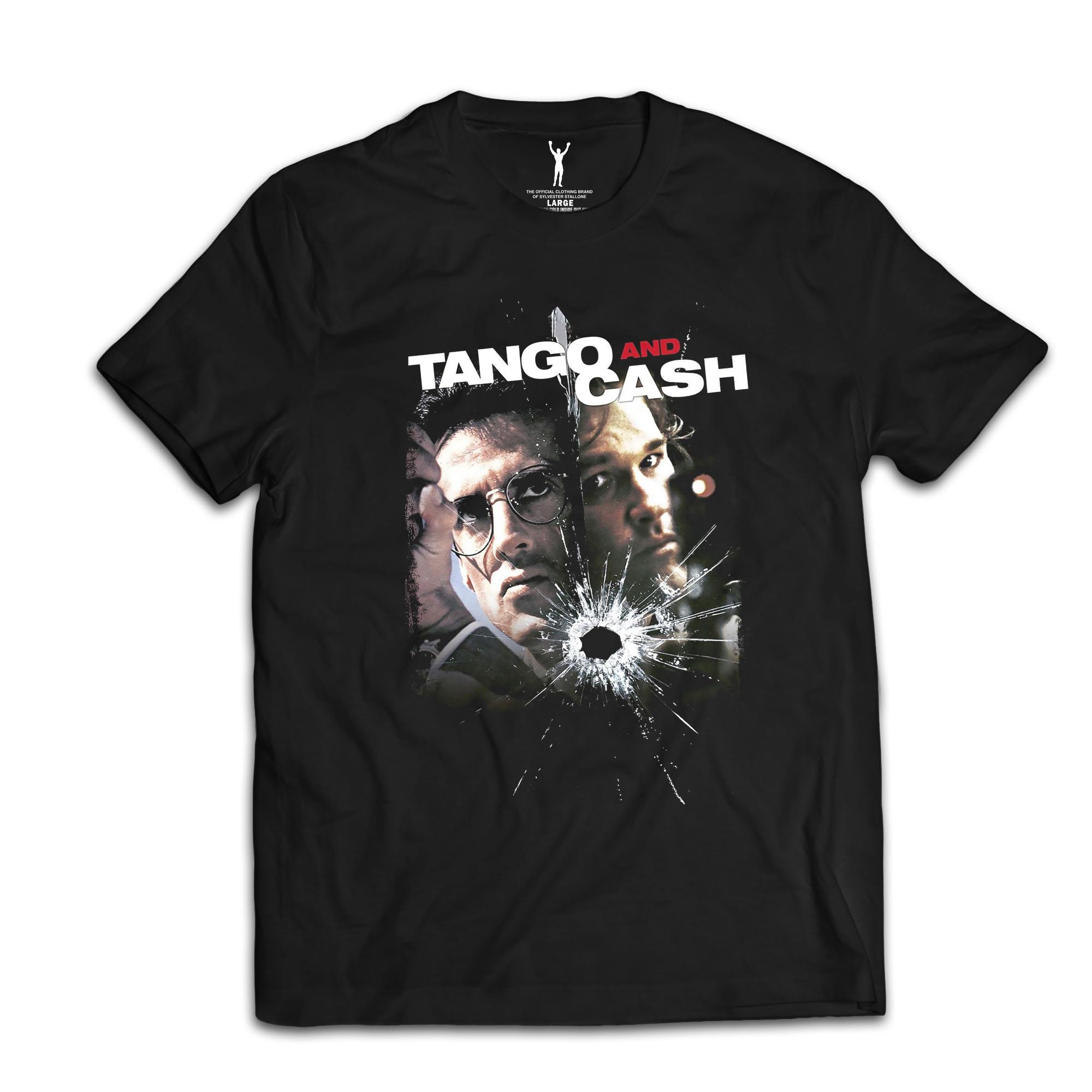 Tango & Cash Black Tee