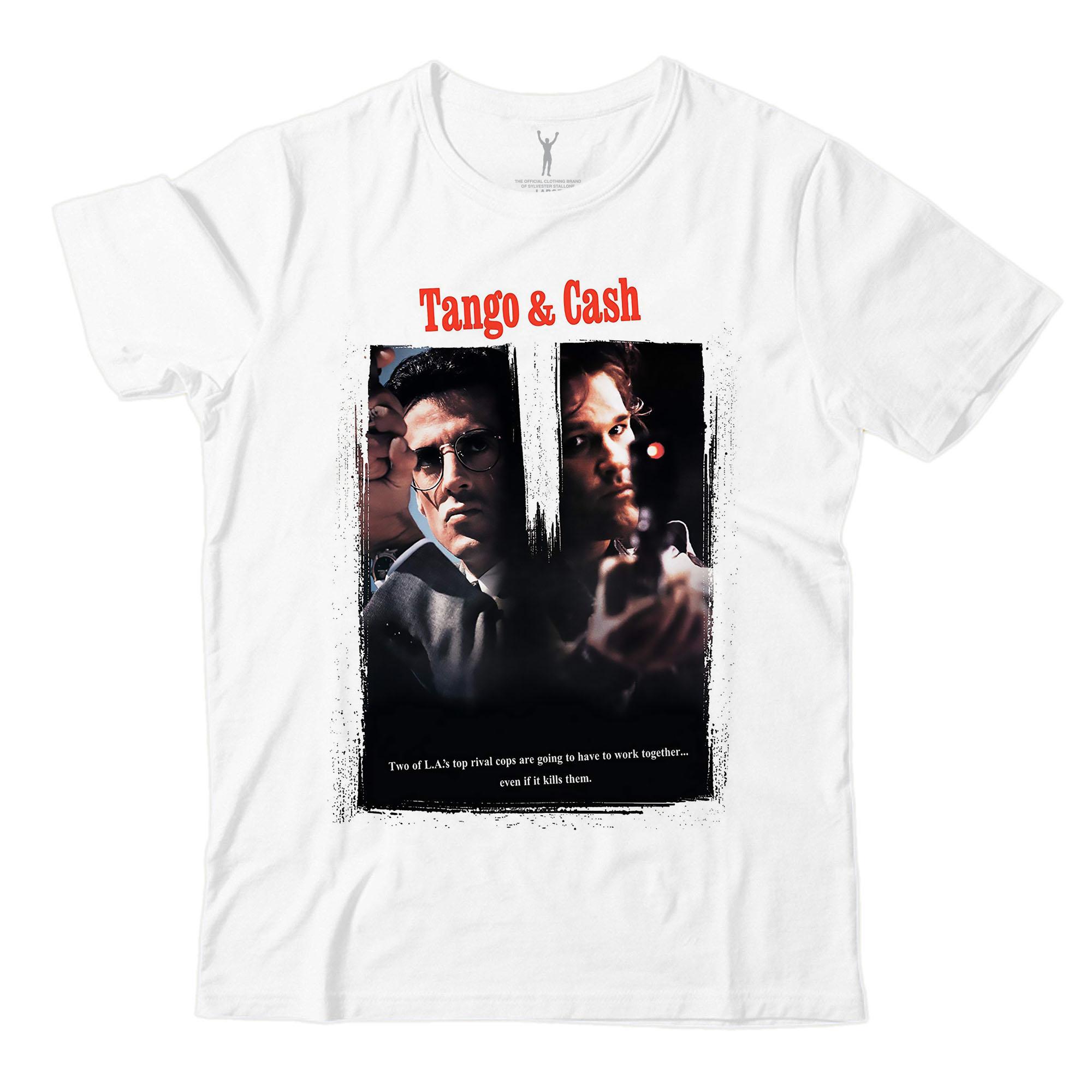 Tango & Cash White Tee