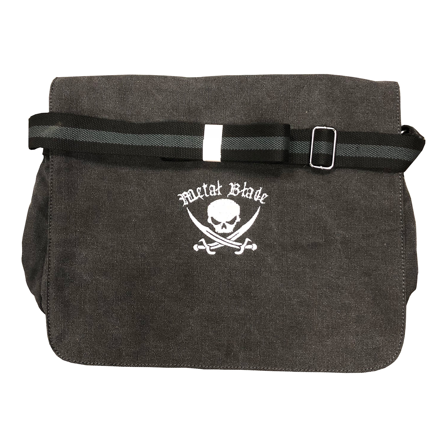 Pirate Logo (Canvas Messenger Bag)