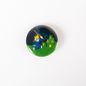 Super Retro Thrash Pin