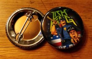 Axe Cop Pin