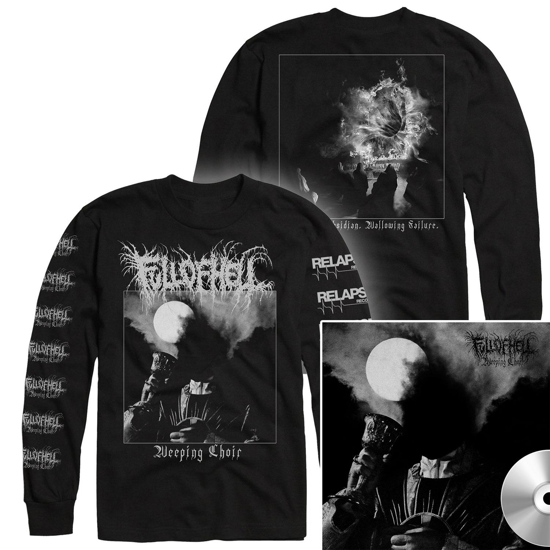 Weeping Choir Longsleeve Shirt + CD Bundle