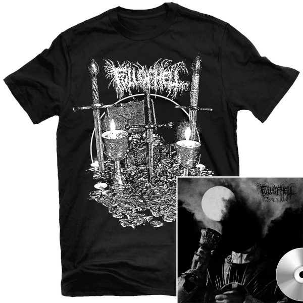 Burn Myrrh T Shirt + Weeping Choir CD Bundle