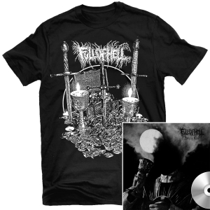 Burn Myrrh T Shirt + Weeping Choir CD Bundle