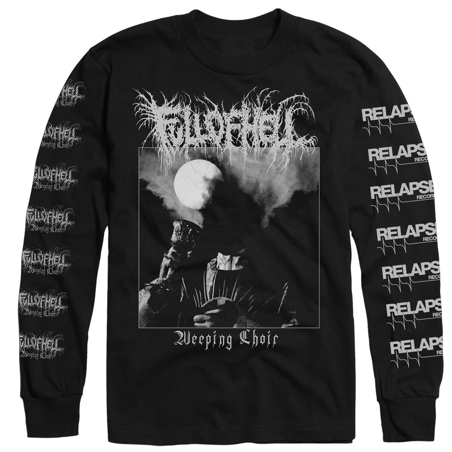 Weeping Choir Longsleeve Shirt + LP Bundle