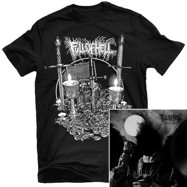 Burning Myrrh T Shirt + Weeping Choir LP Bundle