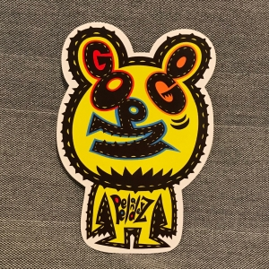 Go PZ Go Die Cut Stickers
