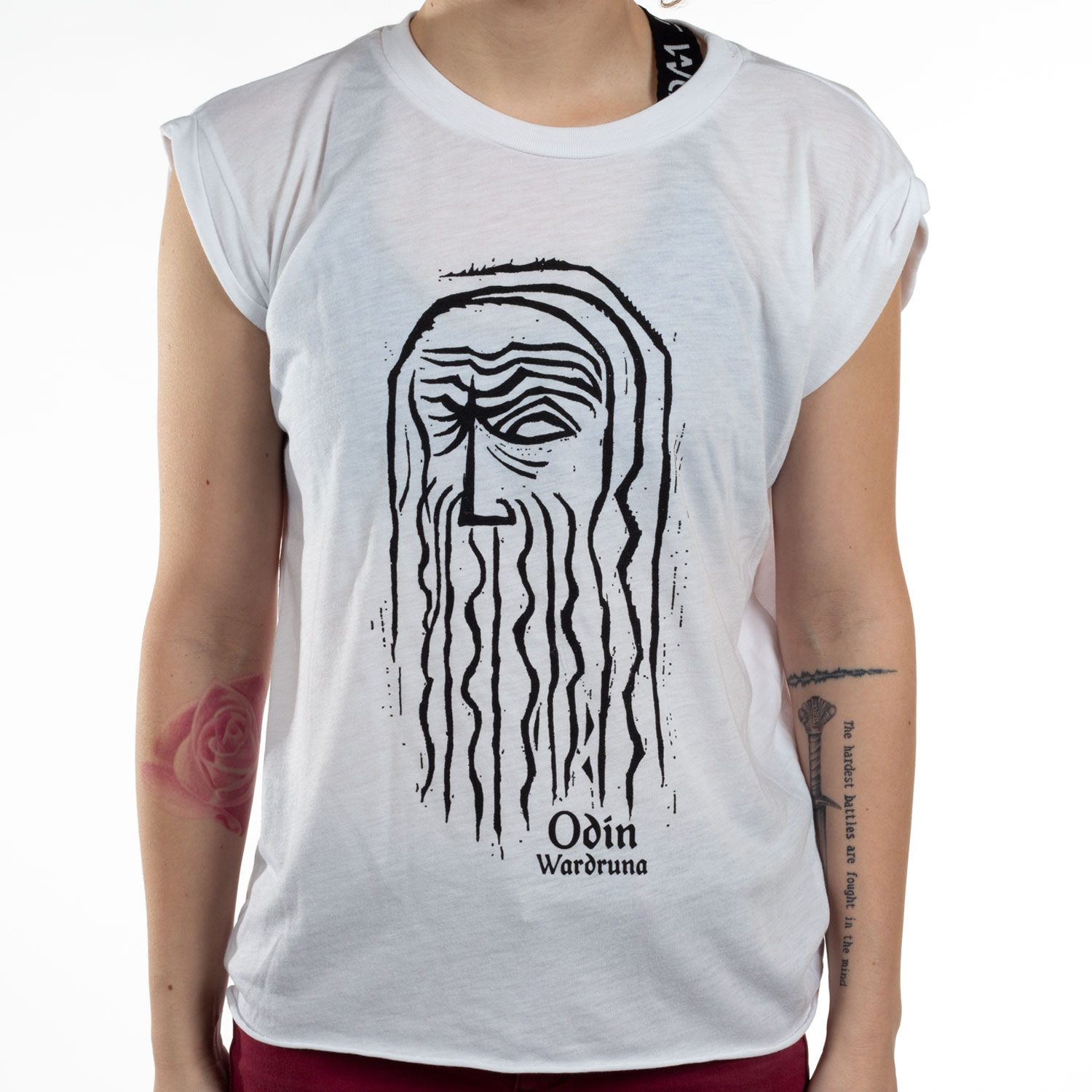 Odin Sleeveless (White)