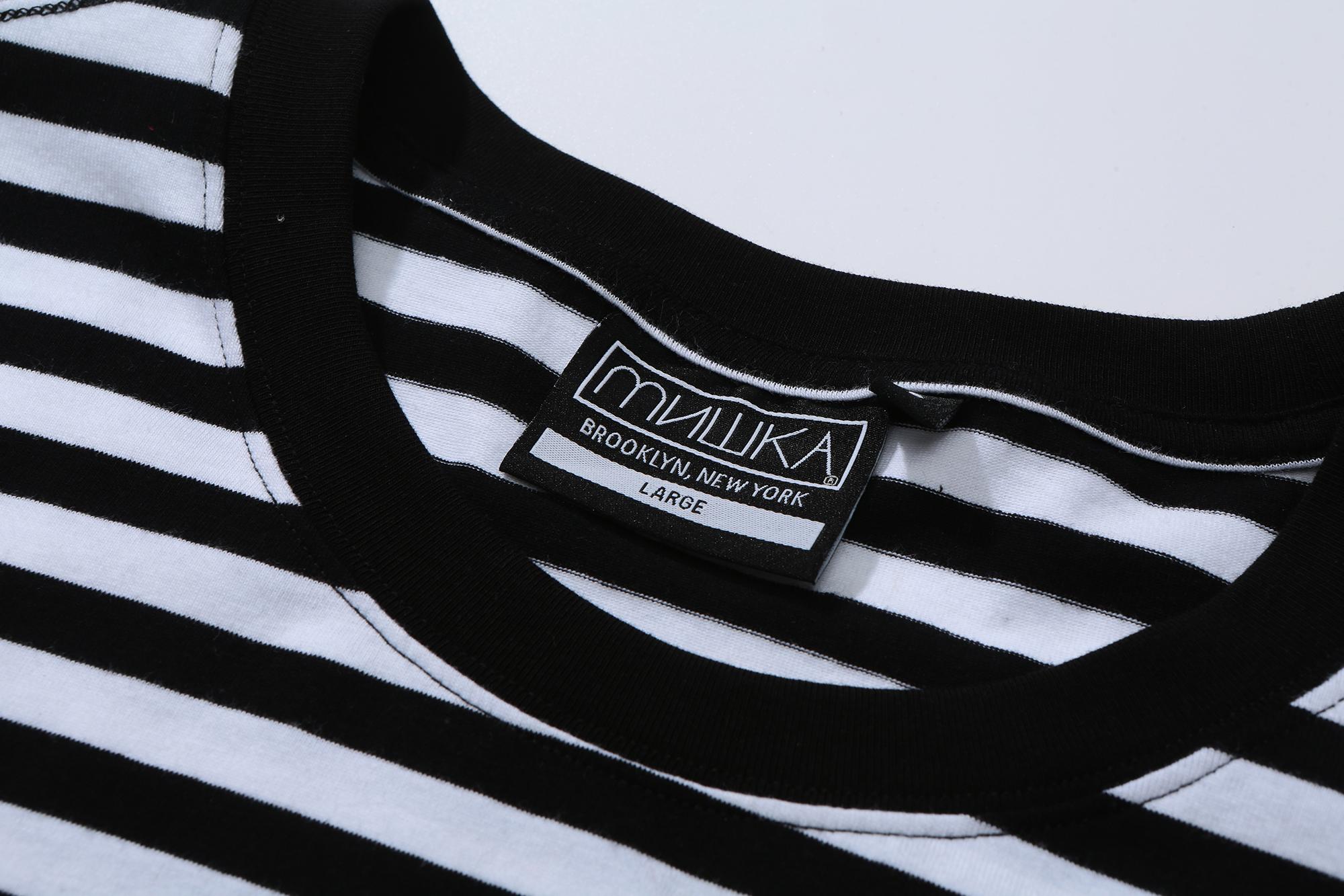 Bummer Striped Knit Tee