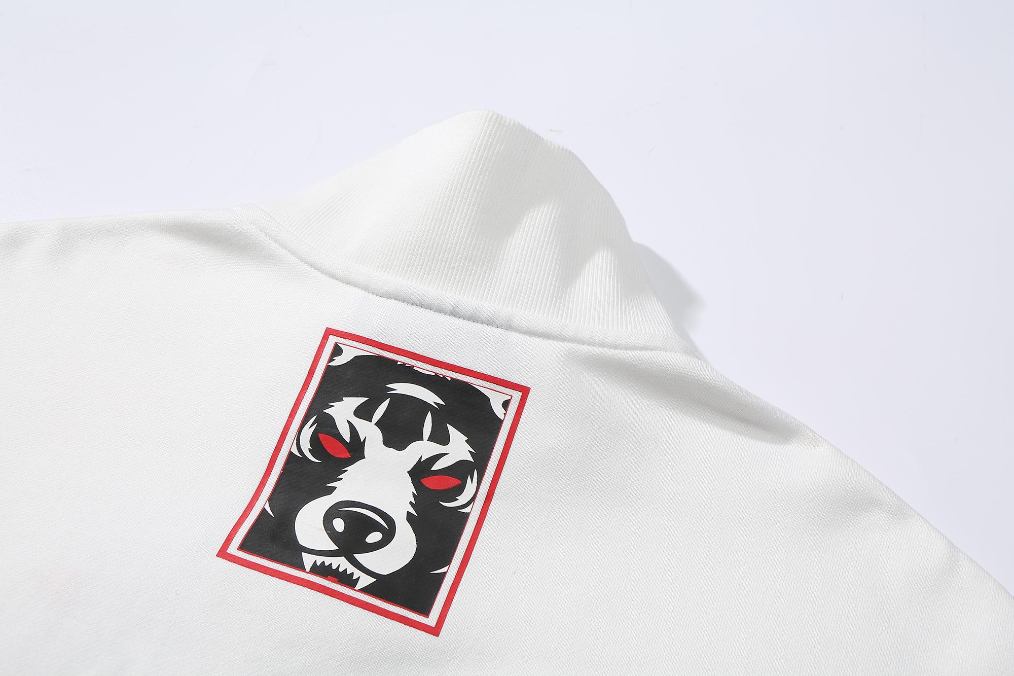 Quarter-Zip Neck Pullover Sweatshirt