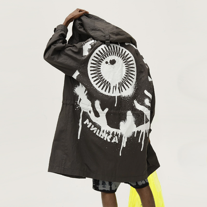 Oversized Keep Watch Jacket