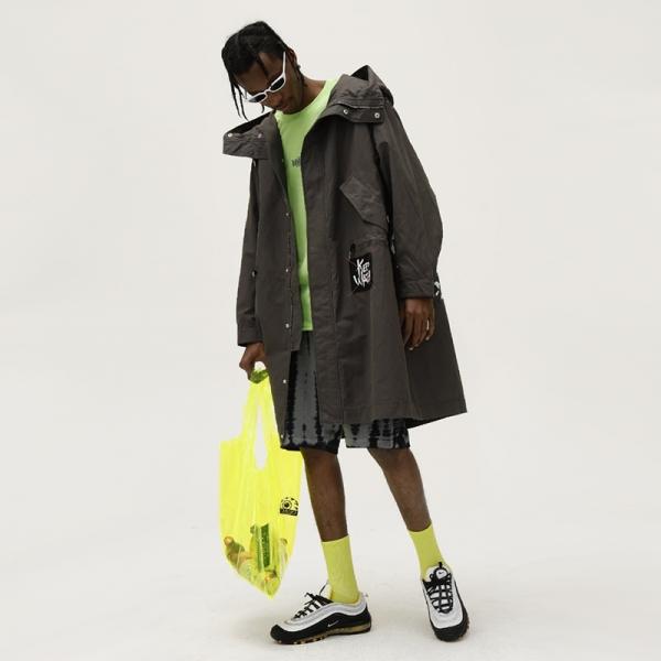 Oversized Keep Watch Jacket