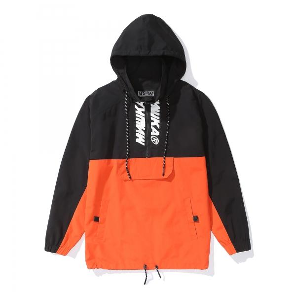 Black/Orange Mishka Jacket
