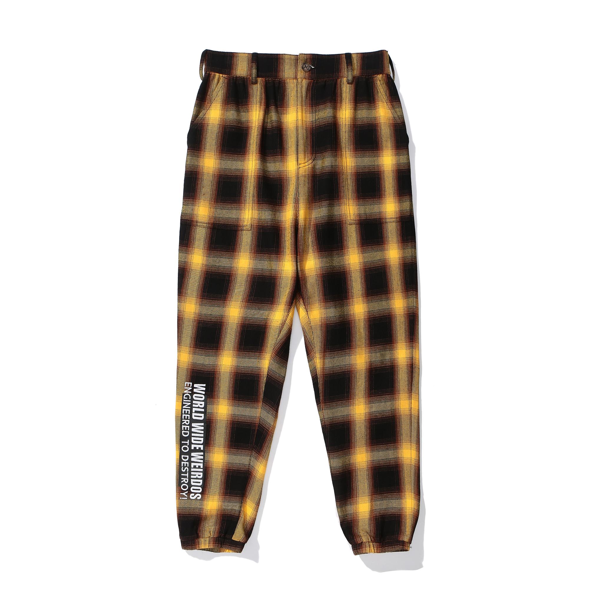 Lucas Tartan Cotton Pants