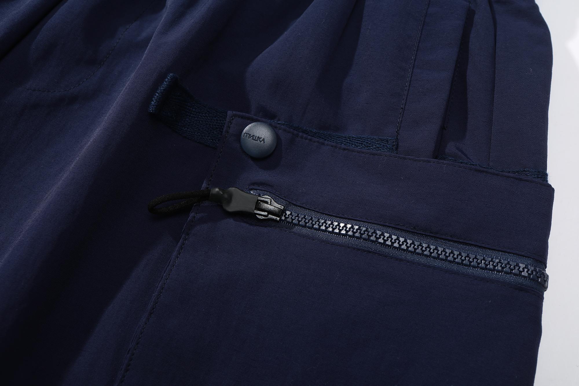 ETD Worldwide Taslan Nylon Shorts