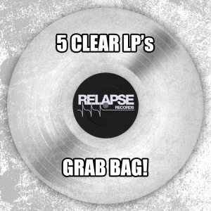 5 Clear LPs for $50