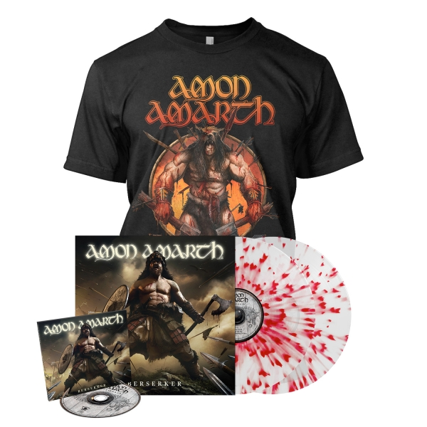 Berserker - Deluxe CD Splatter Bundle