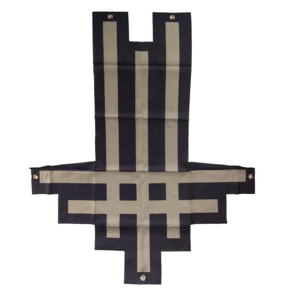 Triumviratus Die Cut Flag