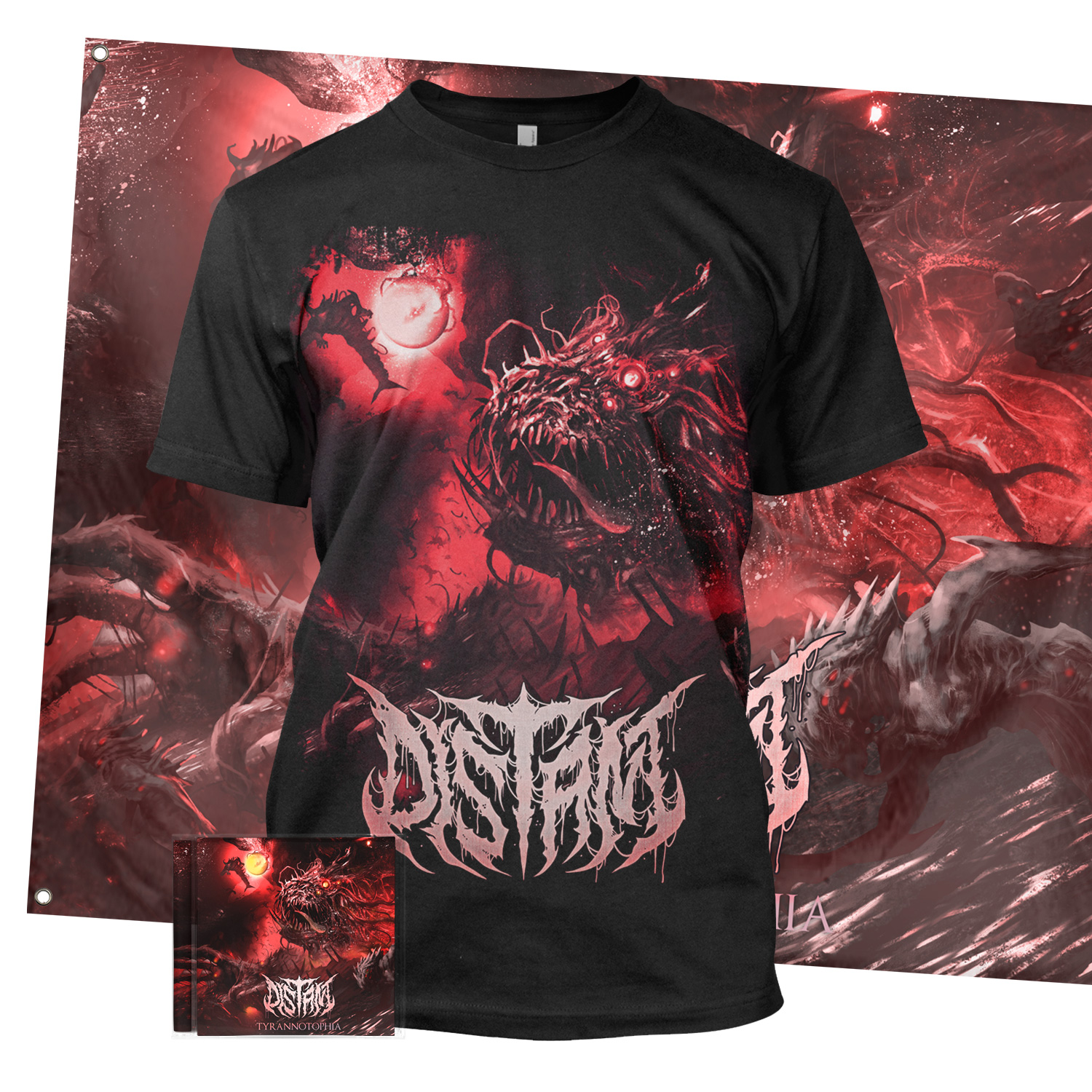 Tyrannotophia CD + Tee Bundle
