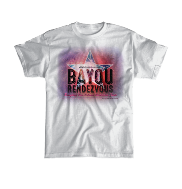 Bayou Rendezvous Star Logo (2 colors available)