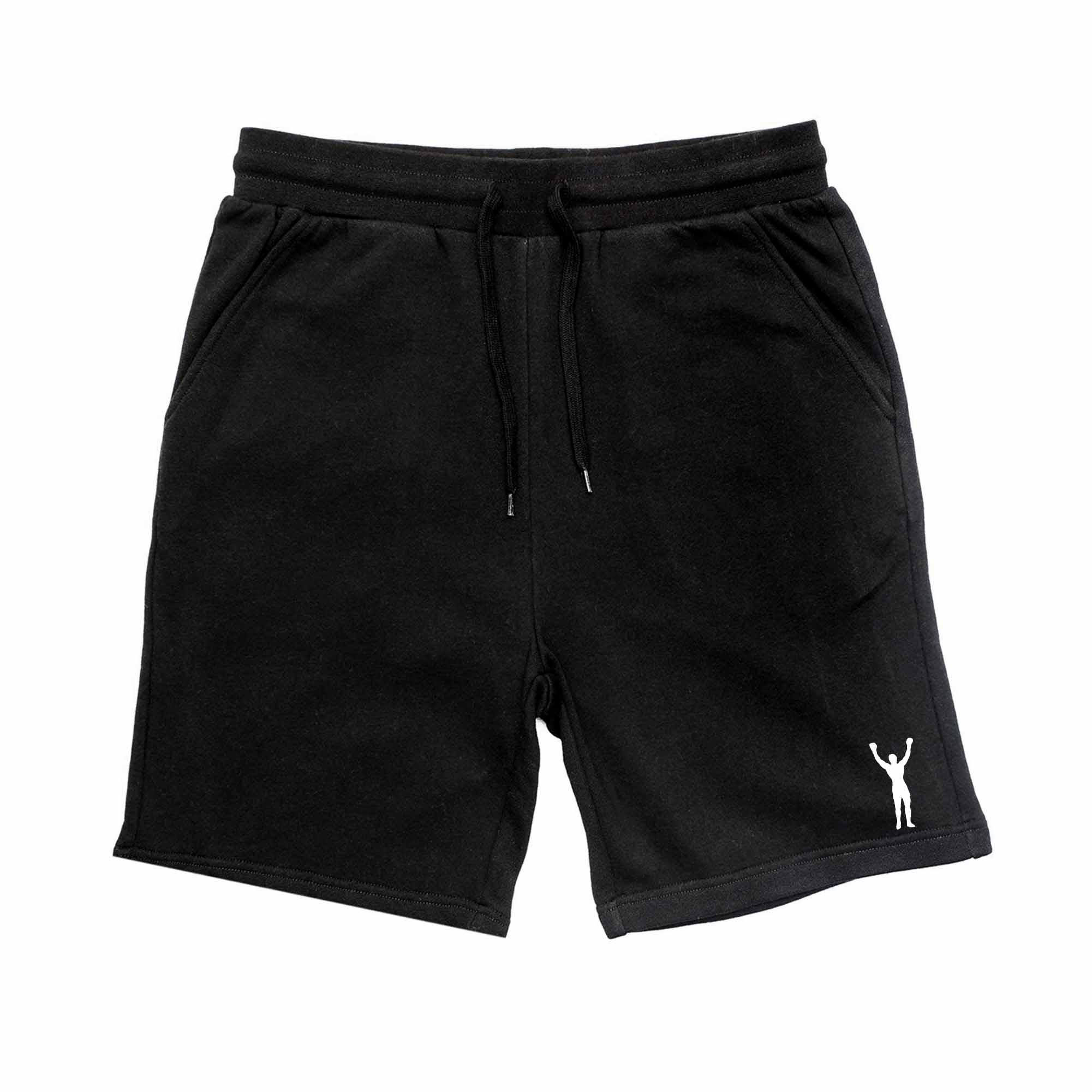 Rocky Statue Black Shorts