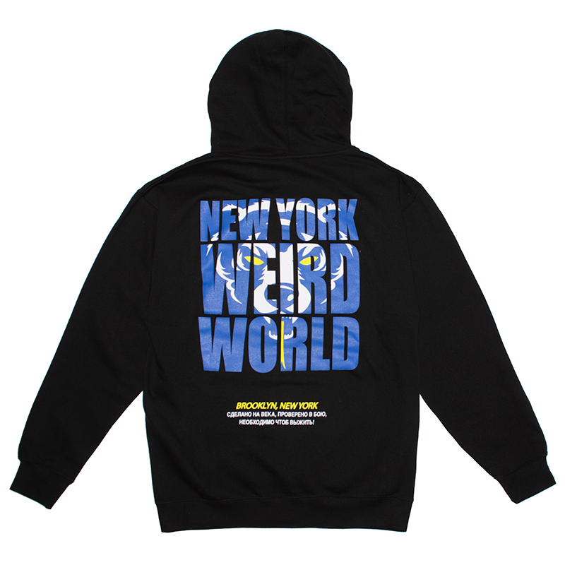 Death Adder NY Weird World Pullover
