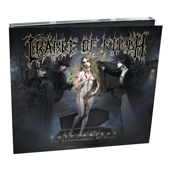 Cryptoriana - The Seductiveness (Digipak)