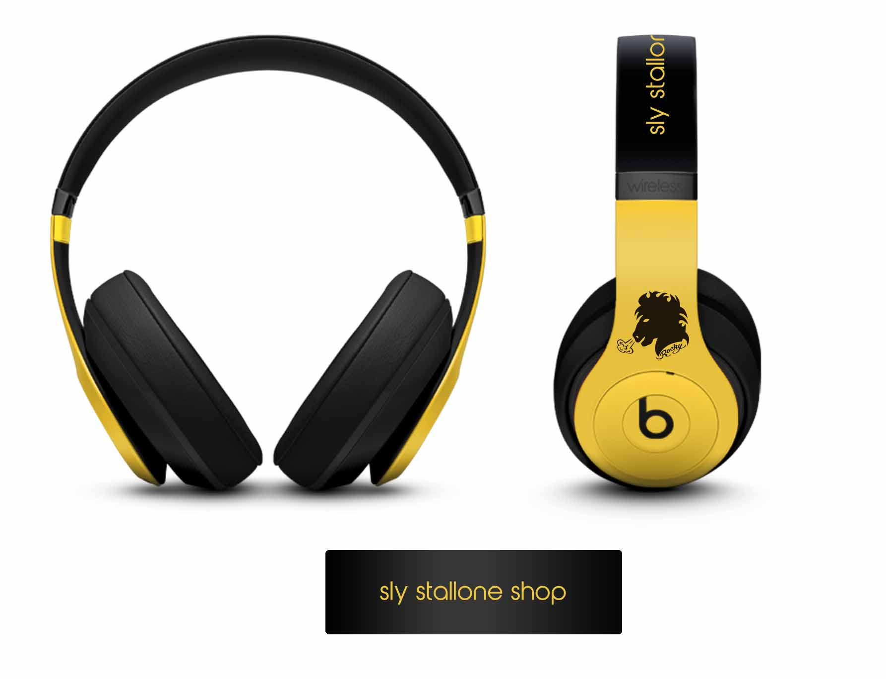 Rocky Beats 3 Studio Wireless Custom Headphones