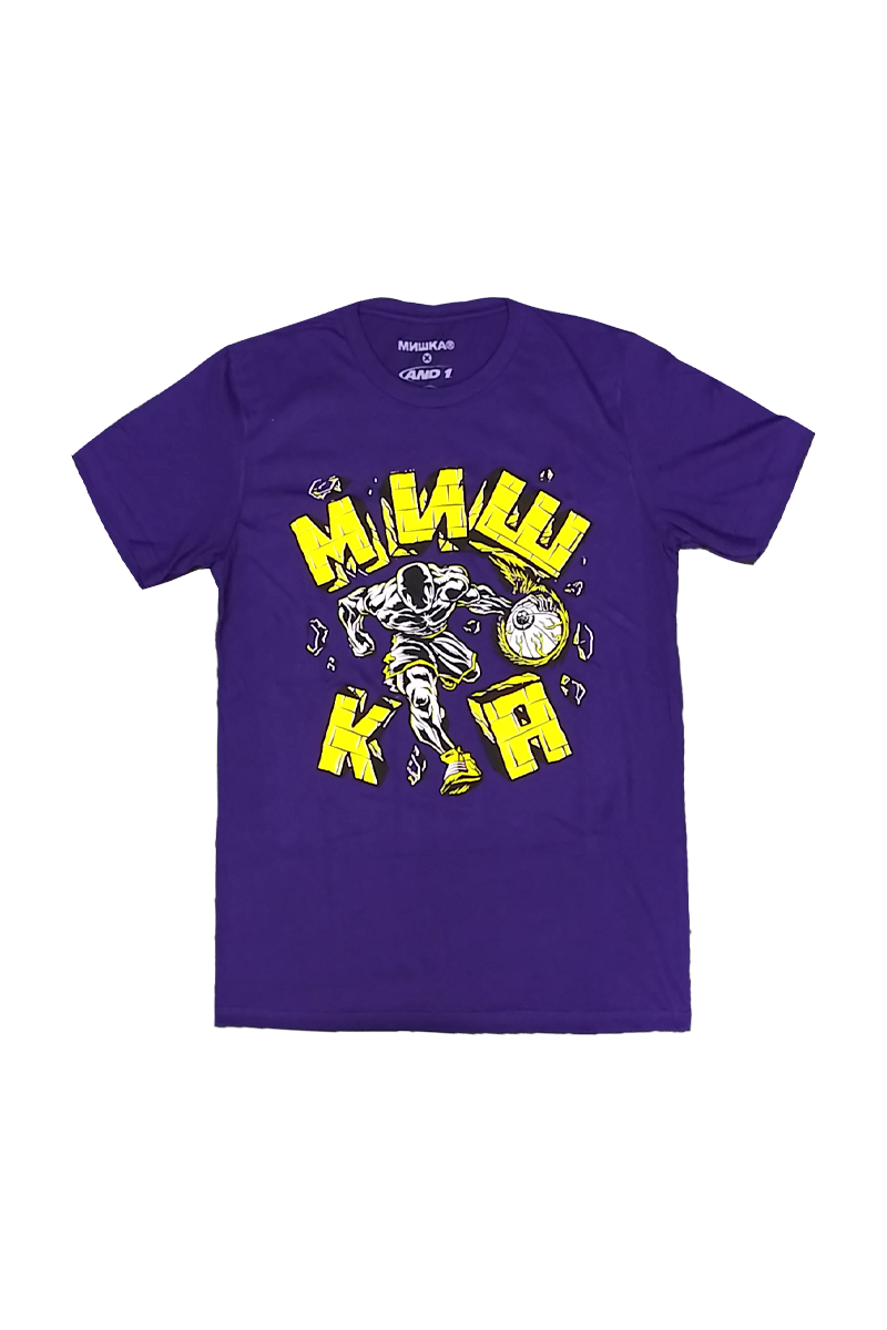 And1 x Mishka Hard In The Paint Tee