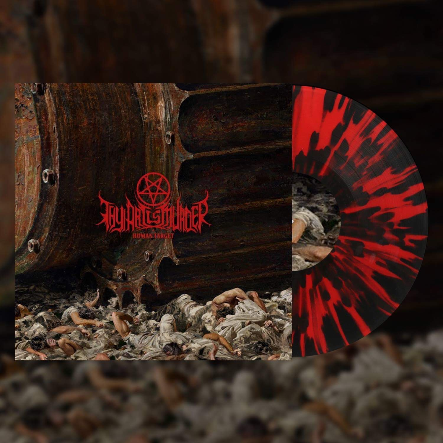 Atonement CD/Vinyl Bundle (Red/Black Splatter Import)