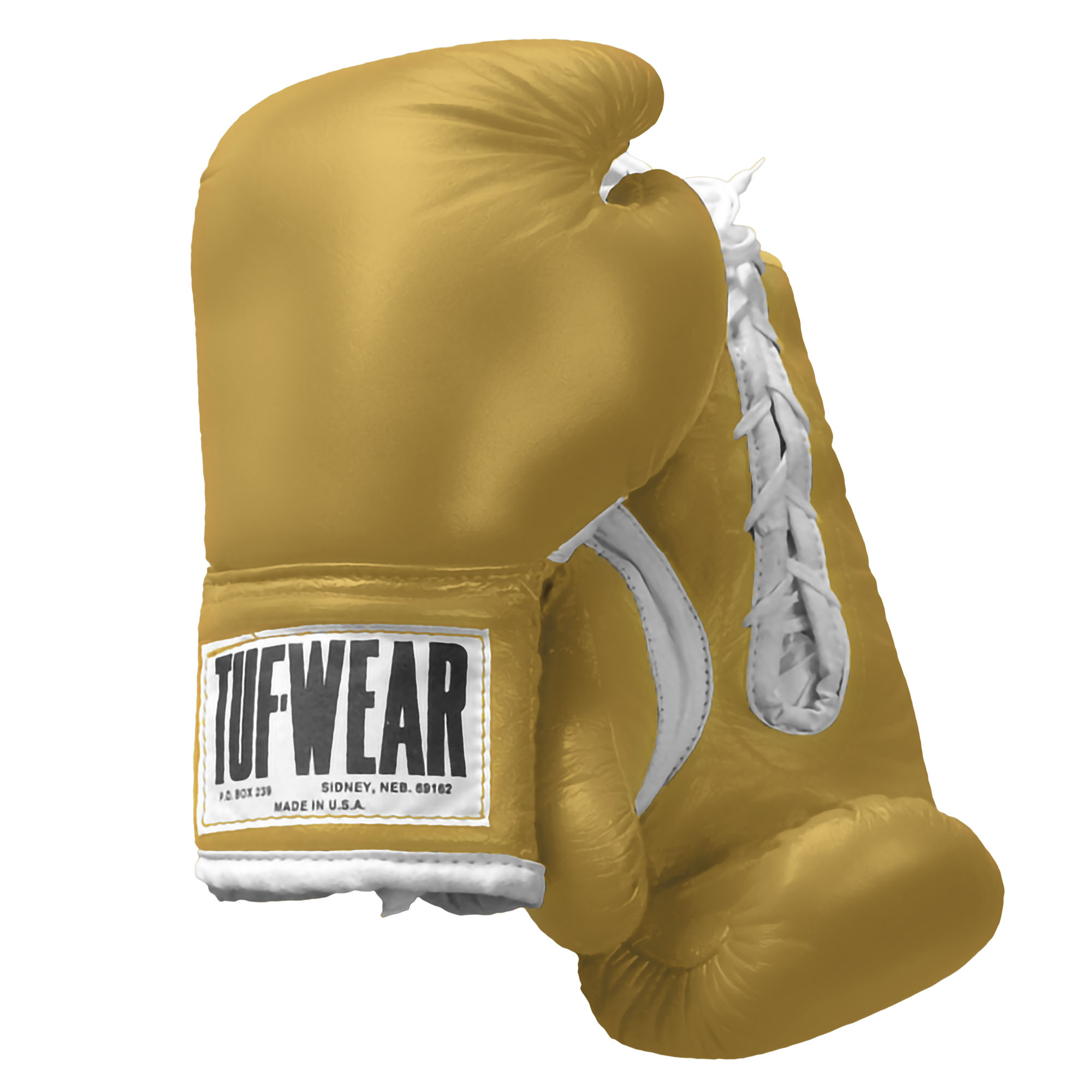 Rocky III Gold Tuf-Wear Boxing Gloves