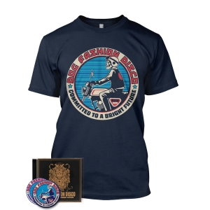 CD/Sticker/Patch/Committed Biker tee Bundle