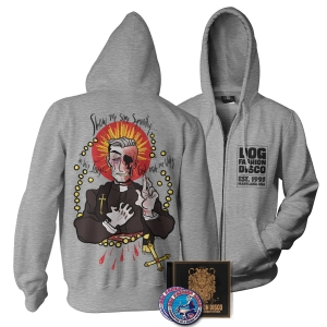 CD/Sticker/Patch/Rapist Eyes hoodie Bundle