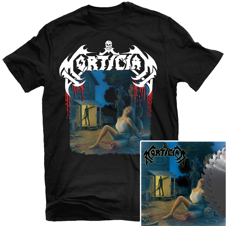 Chainsaw Dismemberment T Shirt + Buzzsaw Edition 2LP Bundle